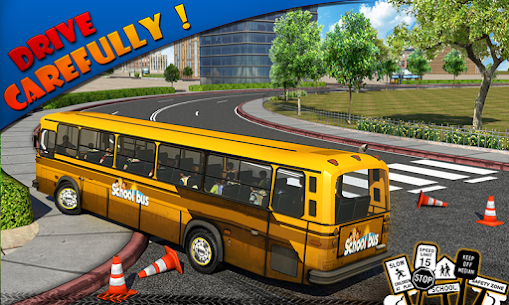 Schoolbus Driver 3D SIM Apk Download 2