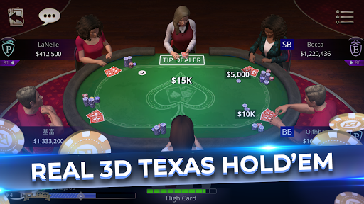 CasinoLife Poker - #1 Free Texas Holdem 3D  screenshots 2
