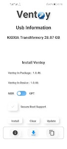 Ventoy -  A New Bootable USB Solution [No-Root] 1.0.48