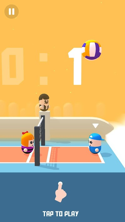 Volley Beans Android App Screenshot