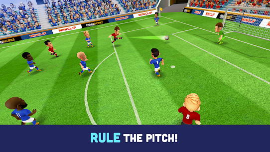 Mini Football – Mobile Soccer Mod Apk (Dumb Enemy/No Ads) 2