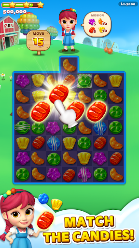 Sweet Road: Cookie Rescue Free Match 3 Puzzle Game screenshots 4