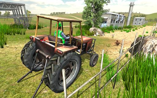 Village Tractor Driving Simulator Farming Games 3d  APK MOD (Astuce) screenshots 3