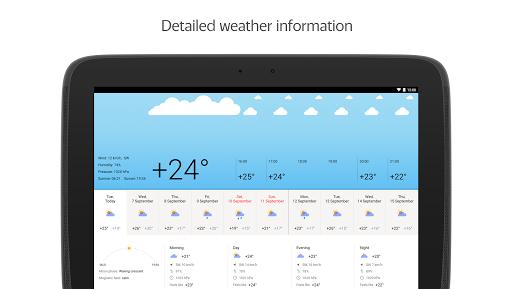 Yandex.Weather apktram screenshots 12