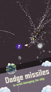 Space Flight: Pixel Rocket | Ship Destruction