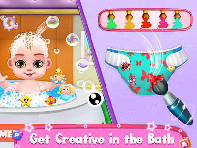 Pregnant Mommy And Baby Care: Babysitter Games 6