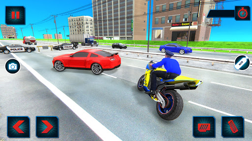 US Police Bike Gangster Crime - Bike Chase Game 3D 1.12 Screenshots 4