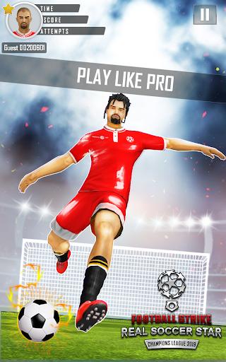 Télécharger gratuit Grève du football Real Soccer Star Ligue Champions APK MOD 2