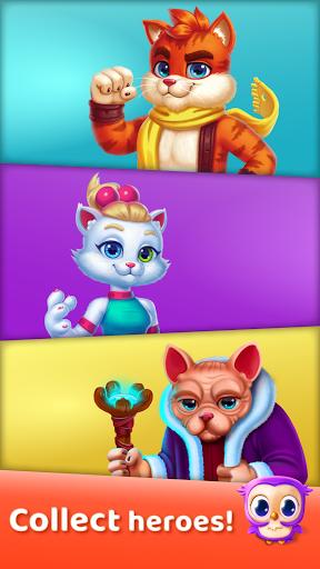Cat Heroes: Puzzle Adventure 45.5.1 screenshots 2