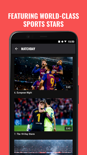 Rakuten Sports 2.1.0 screenshots 1