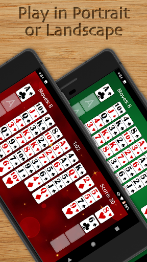 FreeCell Solitaire Free - Classic Card Game  screenshots 6
