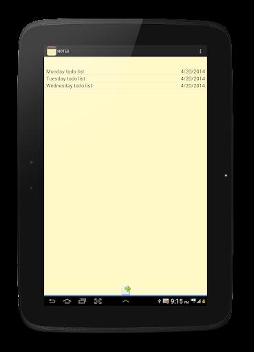 NOTES 1.27 Screenshots 13
