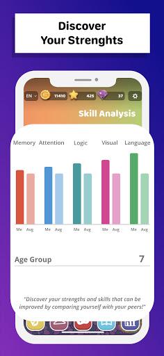 MentalUP - Learning Games & Brain Games  Screenshots 4