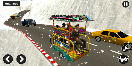 Chingchi Rickshaw Game:Tuk Tuk Parking Simulator screenshots 1