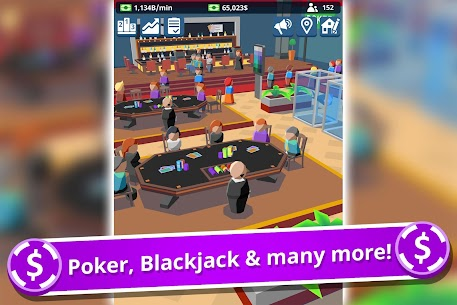 Idle Casino Manager Mod Apk- Business Tycoon Simulator (Free Upgrade) 5