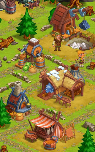 North Dragon Island - build Vikings Farm  screenshots 6