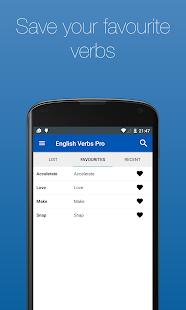 English Verb Conjugator Pro