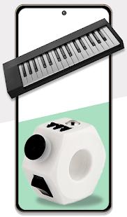 Fidget Cube Pop It 3D Anti stress satisfying Toys 1.1.0 Screenshots 10