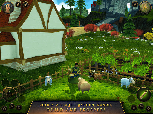 3D MMO Villagers & Heroes  screenshots 18