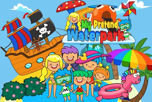 My Pretend Waterpark - Kids Summer Splash Pad apkpoly screenshots 4