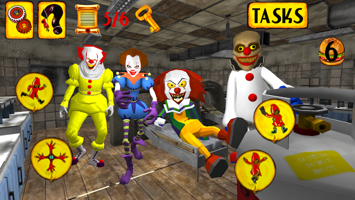 Clown Hospital. Neighbor Escape 3D  screenshots 2