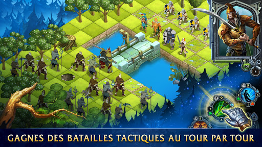 Télécharger Heroes of War Magic: Chroniques APK MOD (Astuce) screenshots 1
