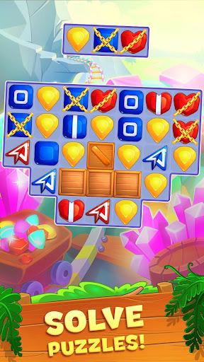 Crystal Crunch: New Match 3 Puzzle | Swap Gems 1.7.1 screenshots 5