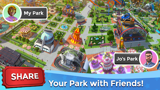 RollerCoaster Tycoon Touch - Build your Theme Park  screenshots 7