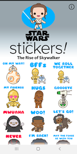The Rise of Skywalker Stickers