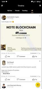 Note Blockchain