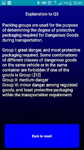 ADR Quiz Dangerous Goods Driver Training Test - UK