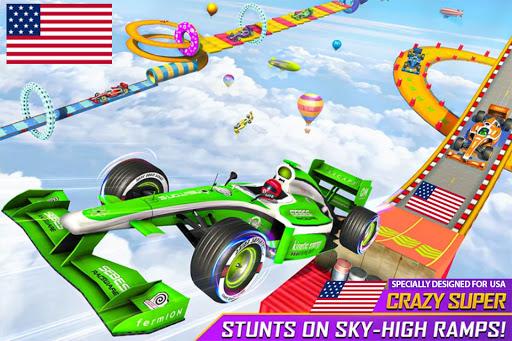 Formula Car Stunt Games: Mega Ramp Car Games 3d  screenshots 1