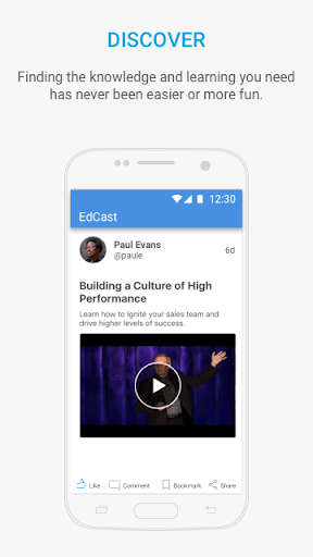 EdCast - Knowledge Sharing modavailable screenshots 1