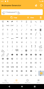 Fancy Text Symbols Premium v2.6 MOD APK – Cool fonts nickname generator 5
