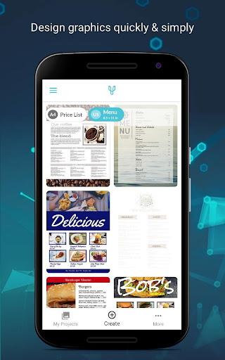 Price List & Menu Maker for Cafu00e9s and Restaurants 4.1.6 Screenshots 1