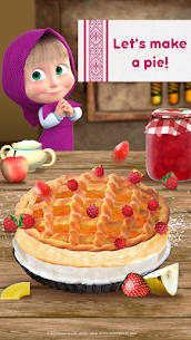 Masha and Bear: Cooking Dash MOD (Paid Characters Unlocked ) 3