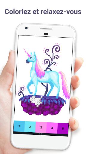 Code Triche Pixel Art : Jeu de coloriage par numéros (Astuce) APK MOD screenshots 1