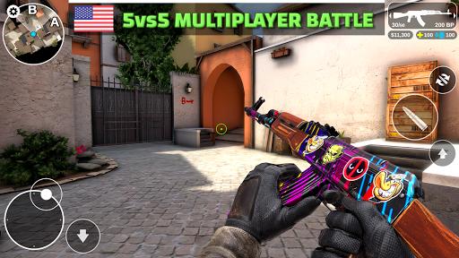 Code Triche Counter Attack - Multiplayer FPS (Astuce) APK MOD screenshots 2