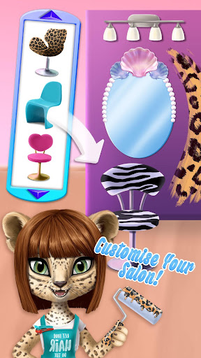 Amy's Animal Hair Salon - Cat Fashion & Hairstyles android2mod screenshots 6