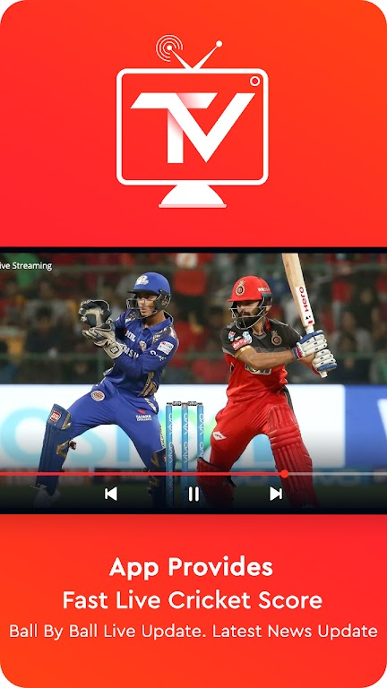 Top TV Guide - Free Live Cricket TV 2021 poster 3