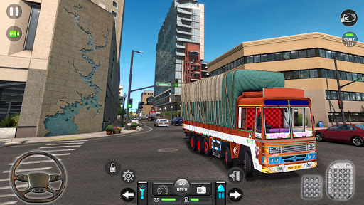 Real Mountain Cargo Truck Uphill Drive Simulator android2mod screenshots 5