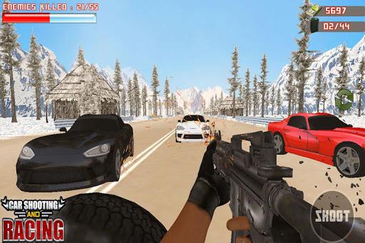 Car Racing Sniper Vs Thieves - Shooting Race games  screenshots 4