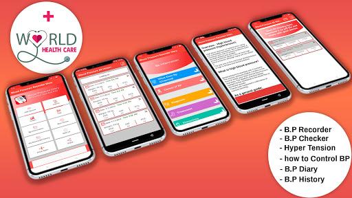 Blood pressure Tracker & bp diary  screenshots 2