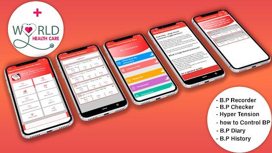 Blood pressure Tracker & bp diary 1.25 Screenshots 2