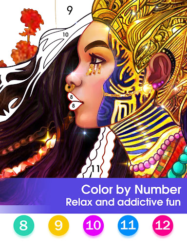 Color by Number - Happy Paint 2.3.6 screenshots 9