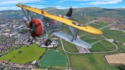 Flight Plane Simulator 3D : Airplane Flying Sim apktram screenshots 6