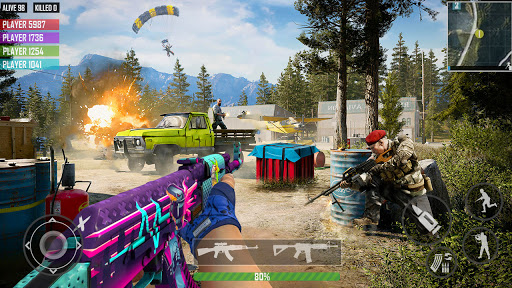 fps shooting games : commando offline gun games android2mod screenshots 4