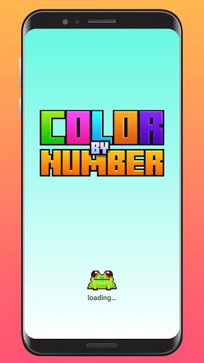 Color By Number - Unicorns Pixel Art apkdebit screenshots 8