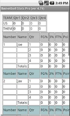 Basketball Stats Proのおすすめ画像3