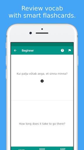 Simply Learn Estonian modavailable screenshots 4